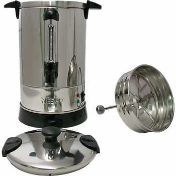 Nesco 30 Cup Coffee Urn 90 Costco Stainless Steel Professional