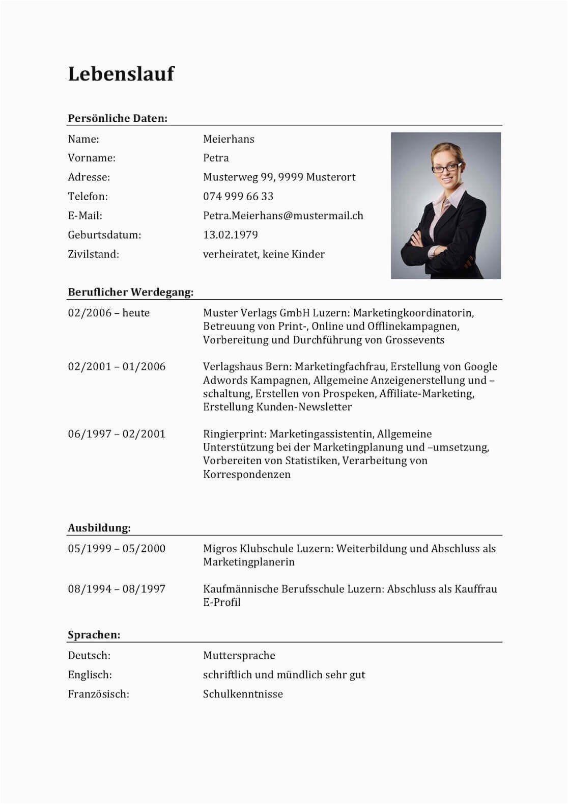 Lebenslauf Vorlagen Schweiz In 2020 Lebenslauf Lebenslauf Vorlagen Word Vorlagen Lebenslauf
