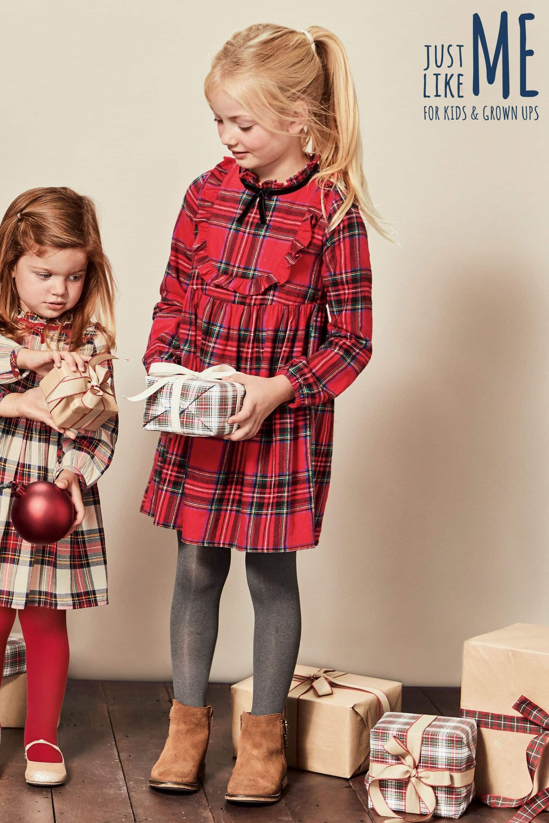 910f19f909700 Buy Red Girls Tartan Check Dress (3-16yrs) from the Next UK online shop