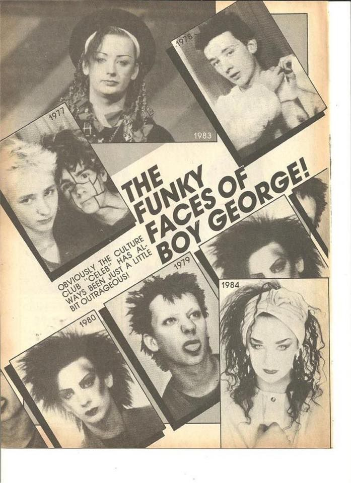 The Funky Faces of Boy George