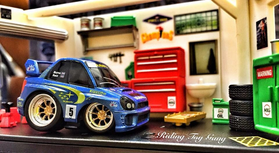 Subaru Impreza Car Town Toy Car Hot Weels