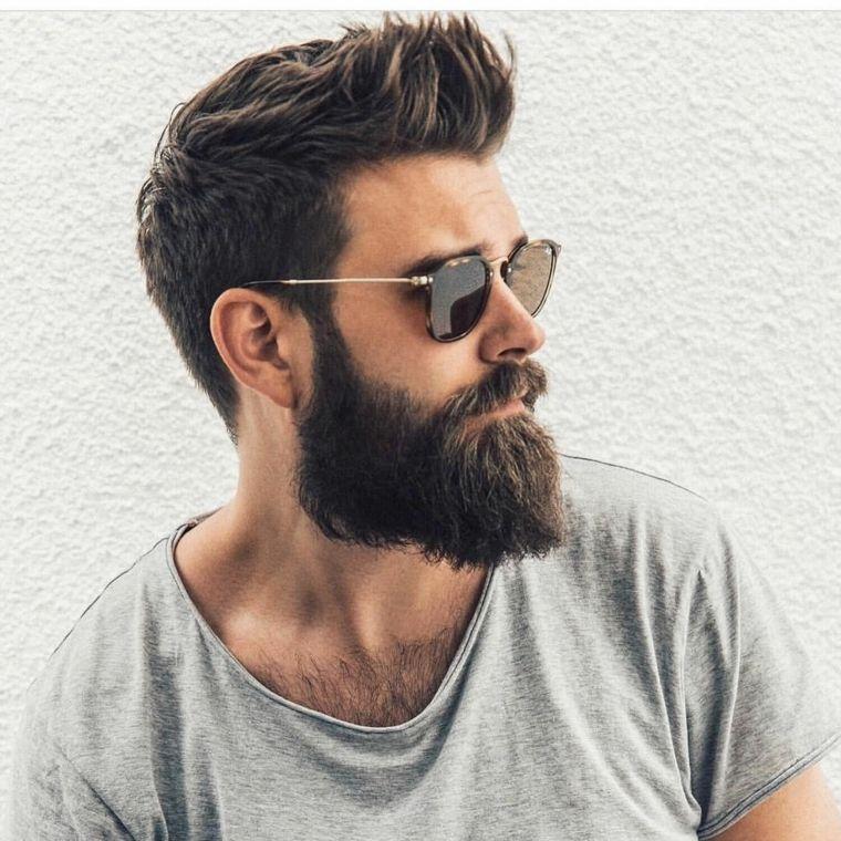 Tagli capelli corti uomo cresta