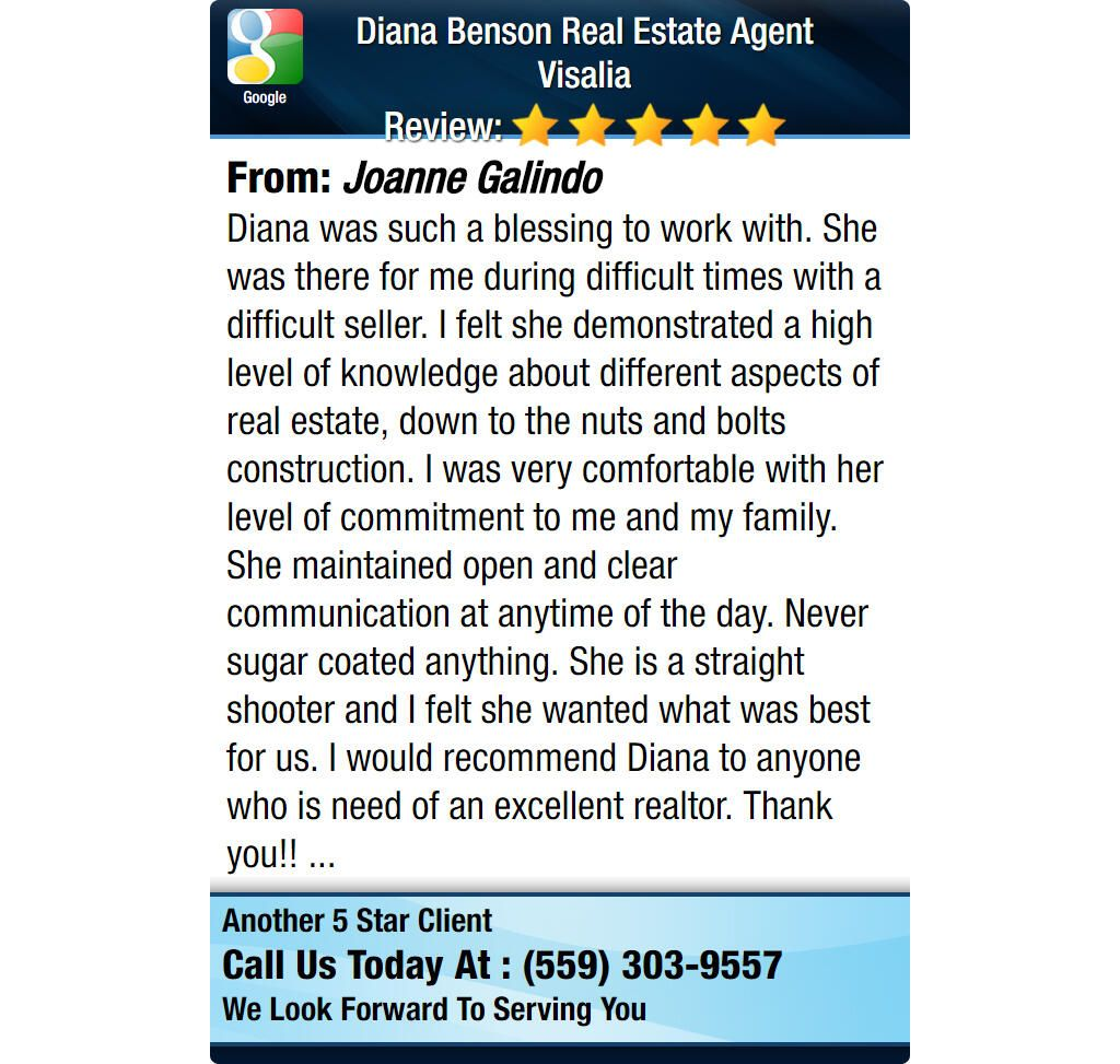 Diana was such a blessing to work with. She was there for