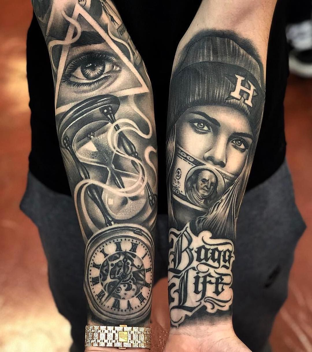 3 043 Me Gusta 8 Comentarios Best Tattoo Artist Best Tattoo Artist En Instagram Repost Best Tat Tattoo Artists Sleeve Tattoos Gangster Tattoos