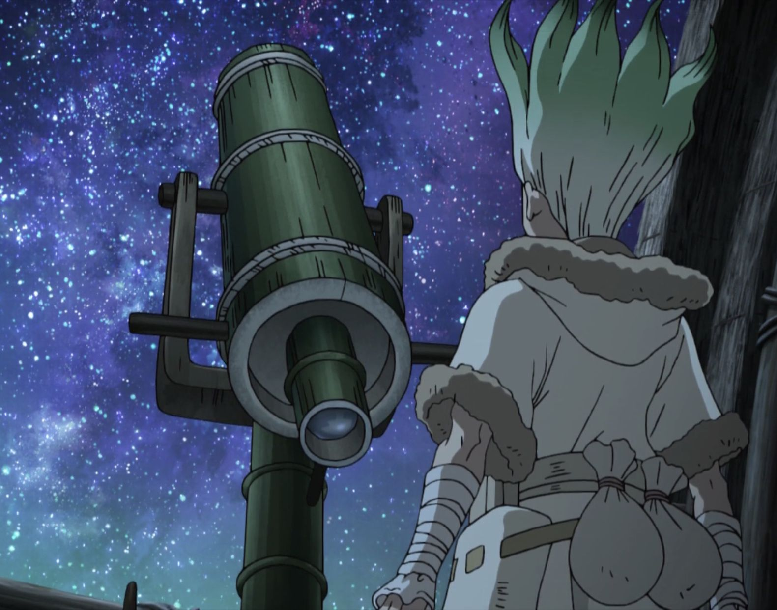 telescope and observatory from dr stone