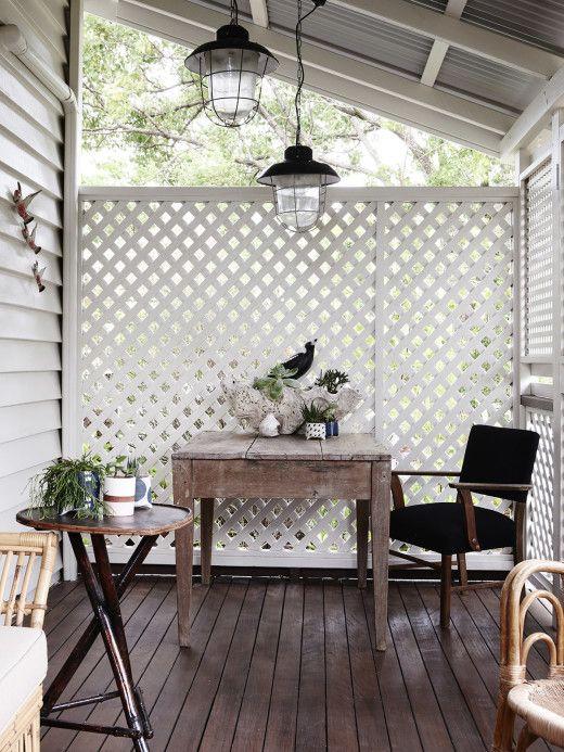 Kylie Johnson Kitchen Porch Privacy Patio Privacy