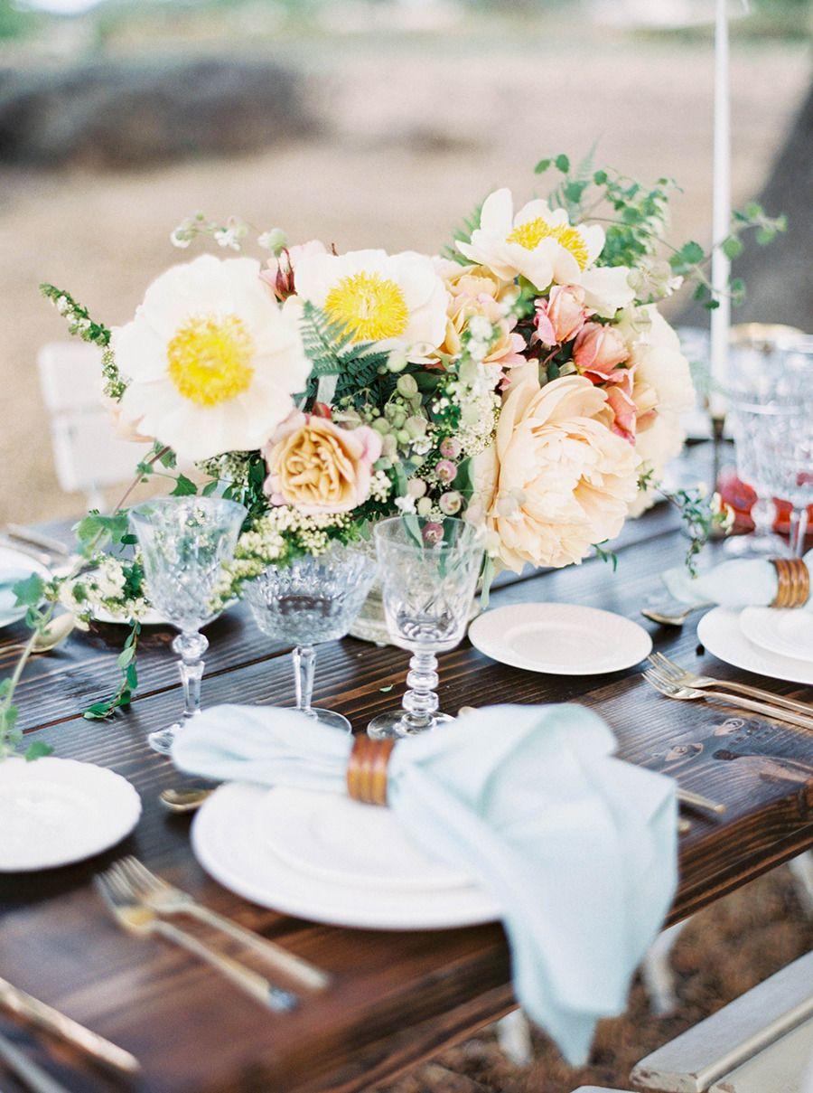#table  Photography: Sally Pinera - sallypinera.com Floral Design: Poppy Design Co. - poppydesignco.com/http://poppydesignco.com/ Event Design: Poppy Design Co. - poppydesignco.com/ Venue: Los Olivos - www.losolivosca.com/