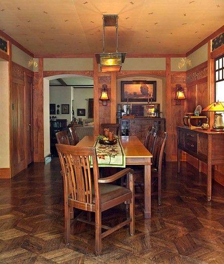 Craftsman Dining Room Furniture Maker, Arts & Crafts Furniture