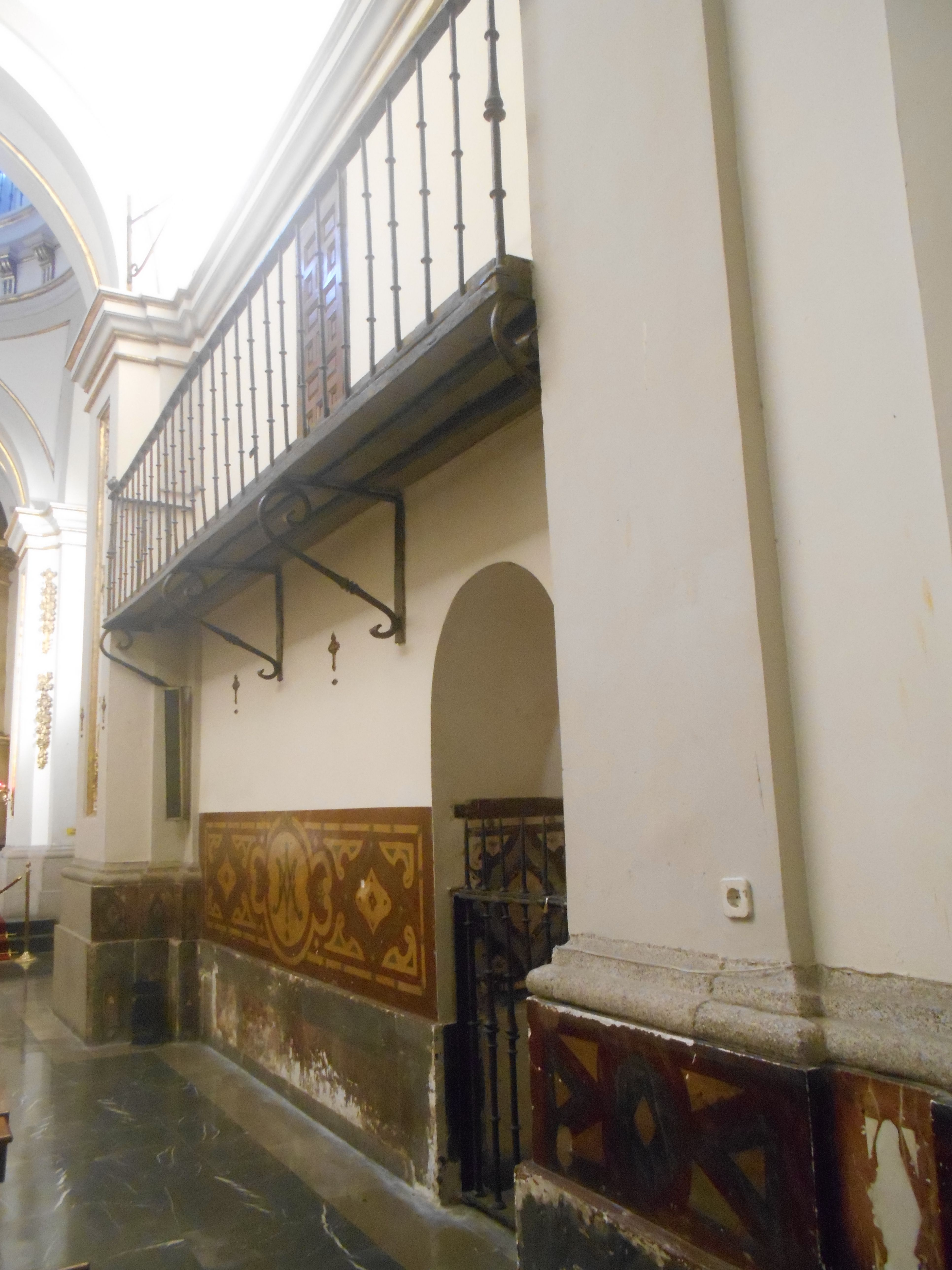 Capilla de Nuestra Señora del Buen Consejo.. Balcón.