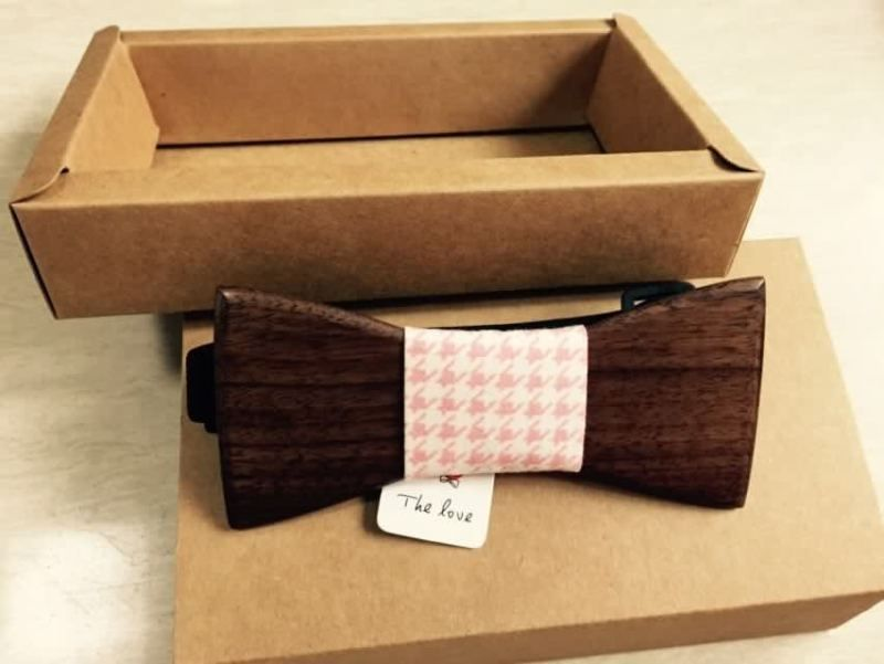 1pcs Lot New Arrival Personality Men Wooden Bow Ties Good Wood Gift For