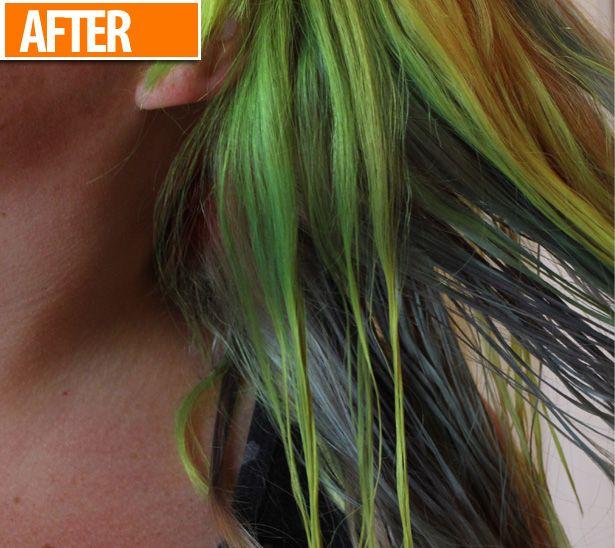 10 Ways To Remove Stubborn Blue Hair Dye Dyed Hair Blue Hair