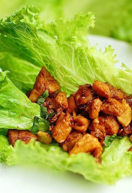 The ULTIMATE chicken lettuce wraps  Better than PF Chang's