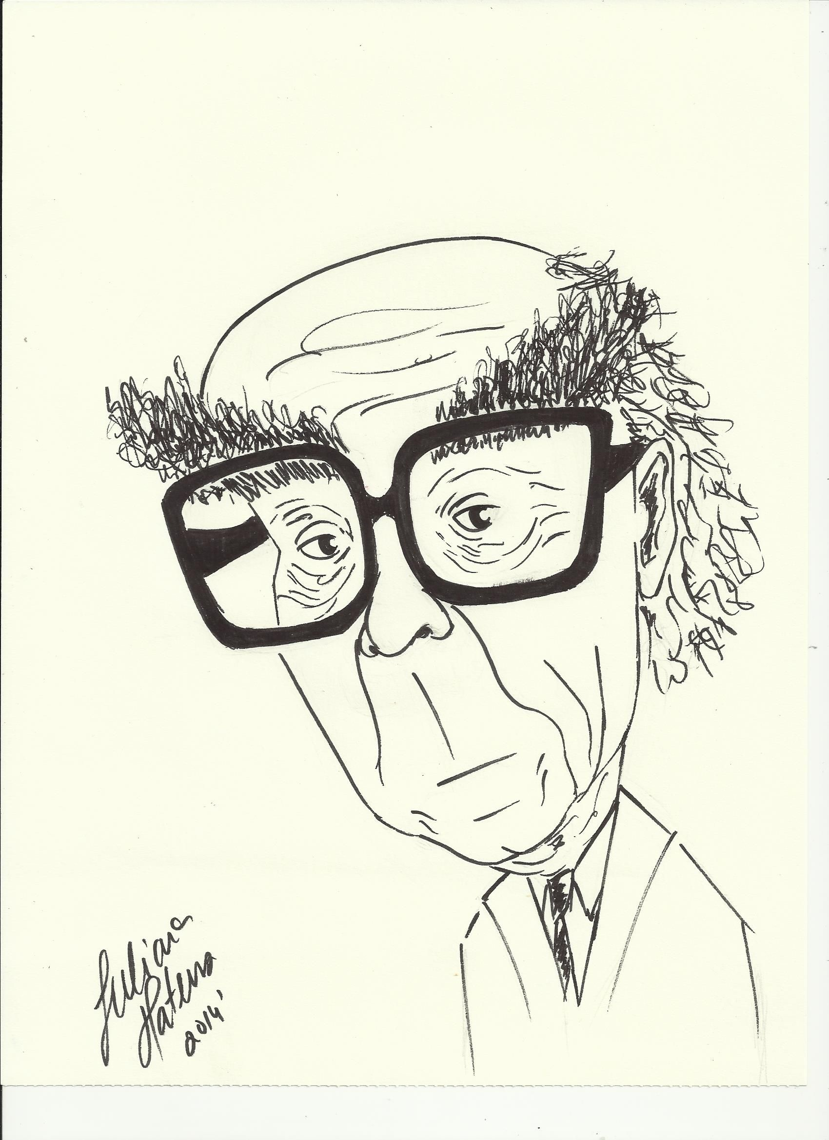 8202f02ed José Saramago', cartoon, JulianaMateus'2014'February | Caricaturas ...