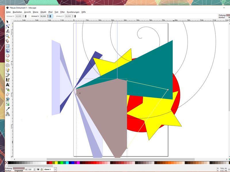 inkscape zeichenprogramme grafik illustrator vektorgrafik logo