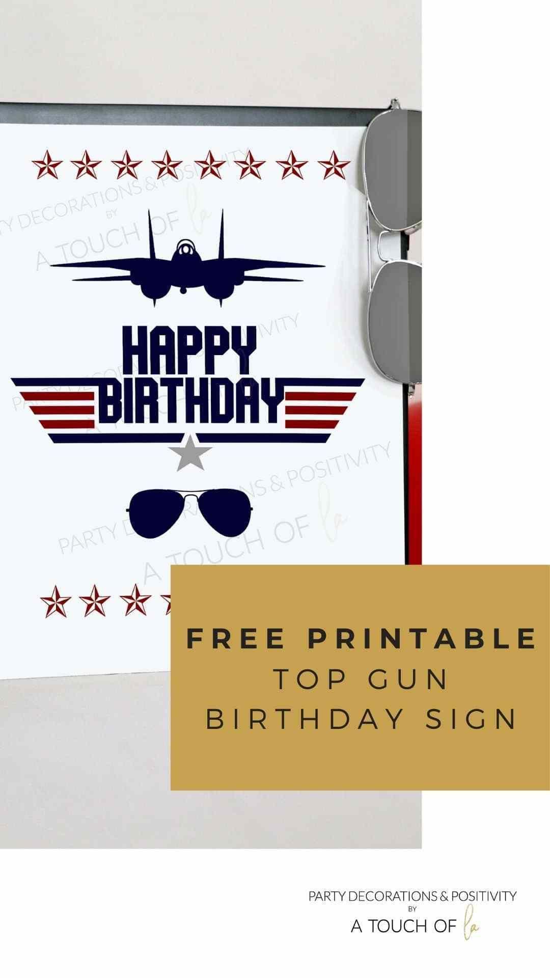 Pin On Top Gun Birthday Party