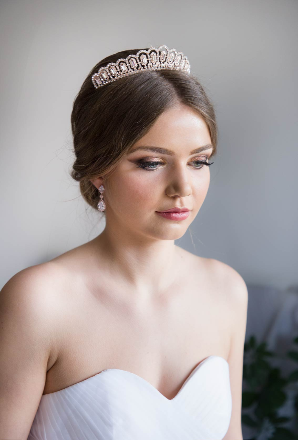 Diademe Mariage Princesse Cristal Accessoire De Cheveux De Luxe Miya Diademe Mariage Accessoires Cheveux Mariage Mariage Princesse