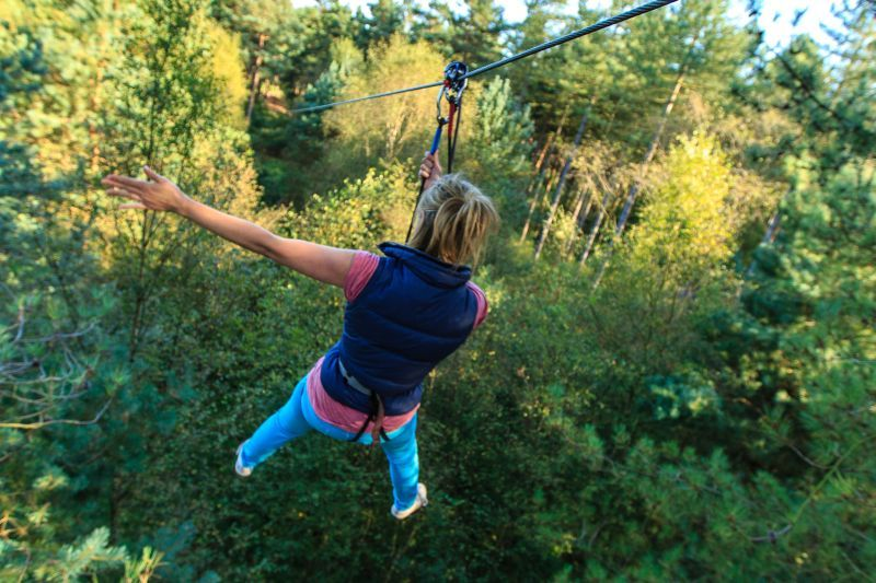 Go Ape Buxton re-opens its forest doors on 15th February