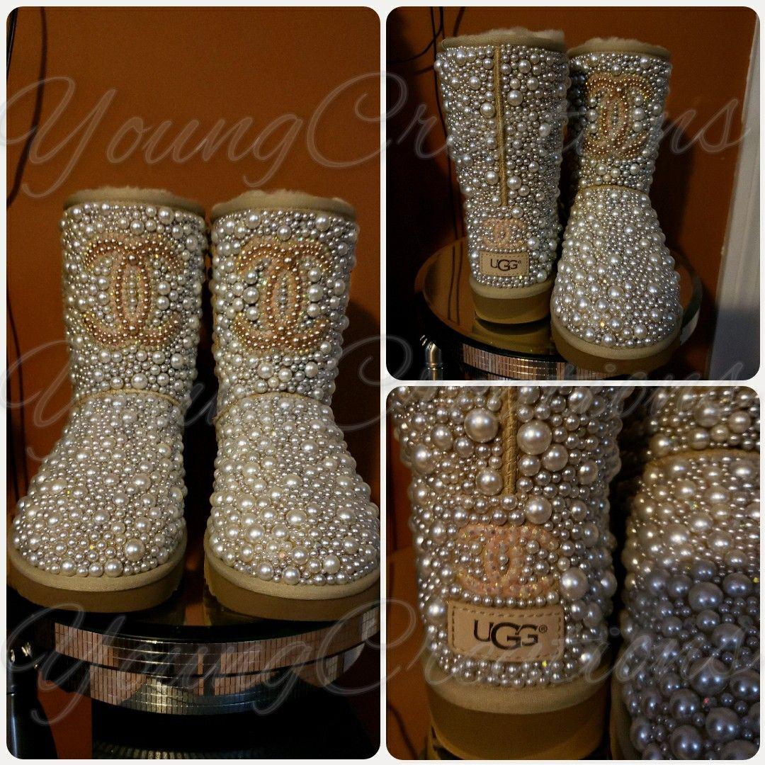 Custom bling ugg boots | Diy sandals