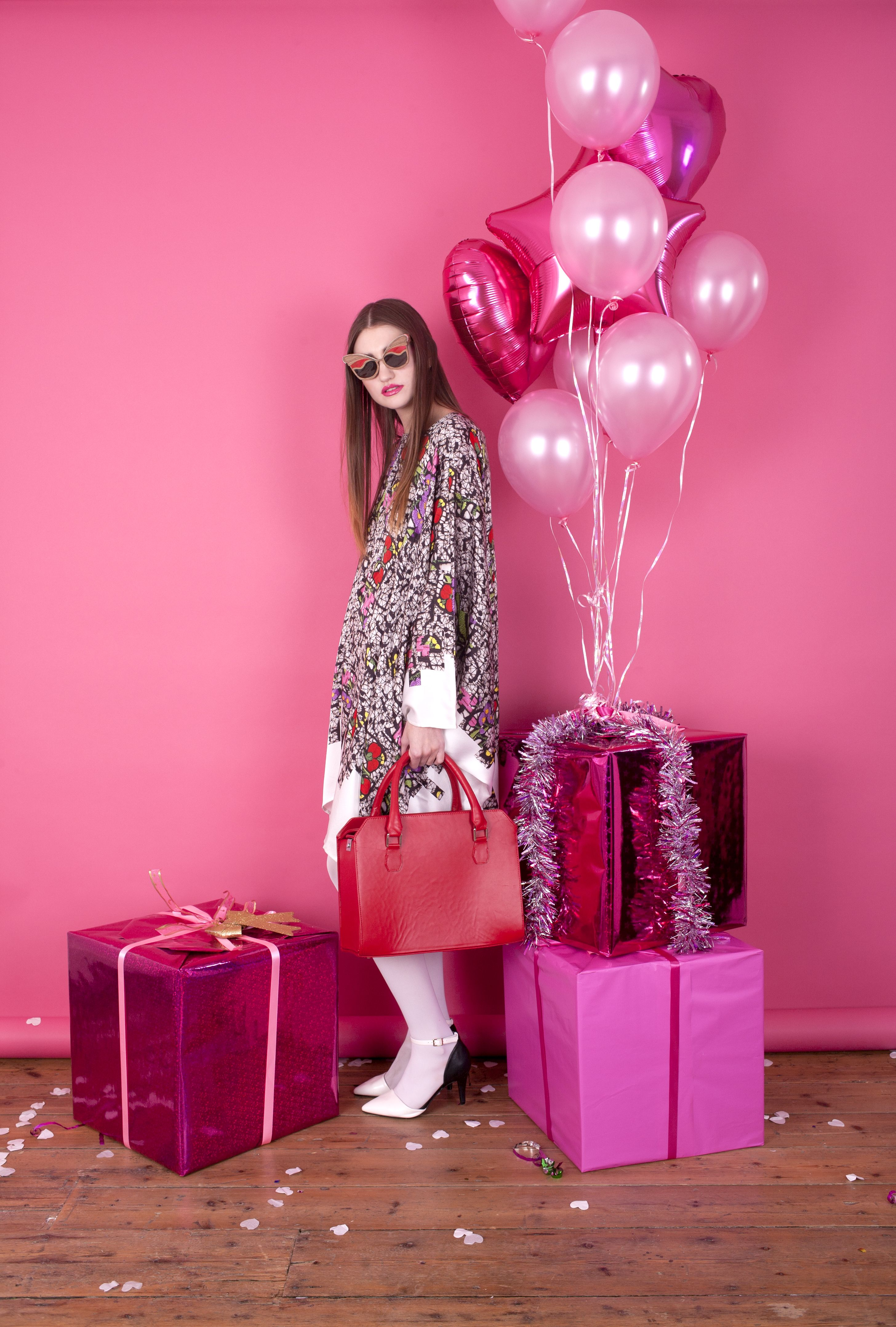 art direction | pink monochromatic holiday party - fashion ...