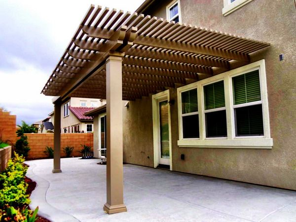 Alumawood Patio Cover Open Lattice Patio Covers