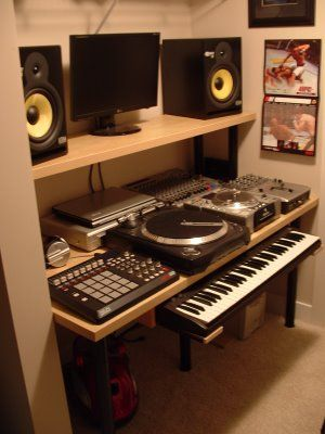 Top Facebook Pages For DIY Crafts Home Decor More Music - Cheap diy ikea home studio desk