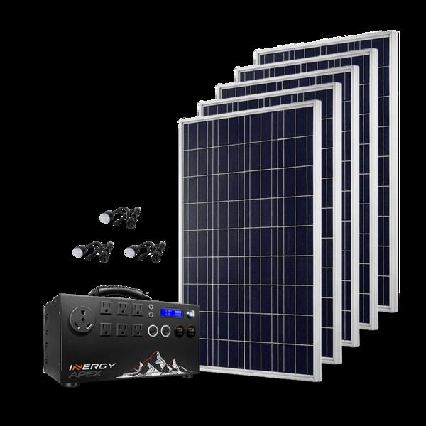 Inergy Apex Gold Complete Diy Solar Kit Pre Sale Free Shipping Shop Solar Kits Solar Kit Solar Energy Panels Solar Generator