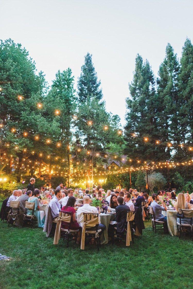 Festoon Lights Outdoor Fantastical Woodland Renaissance Wedding In California Milouandolin