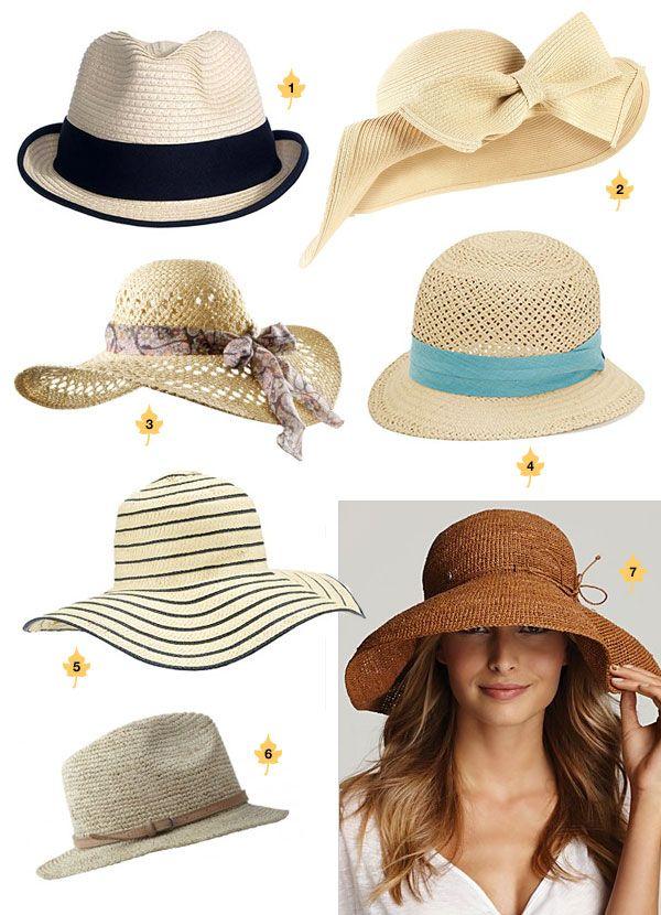 More summer hats