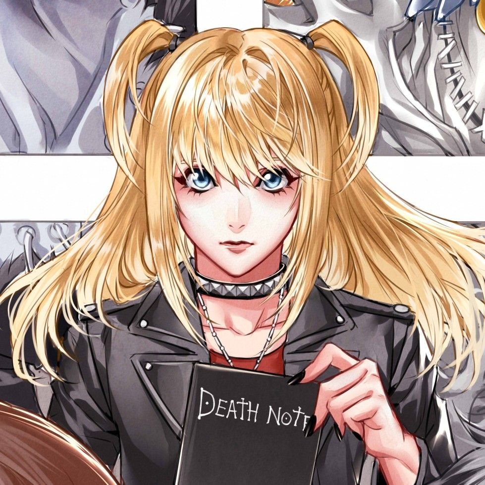 Misa Amane.   Anime, Personagens de anime, Death note