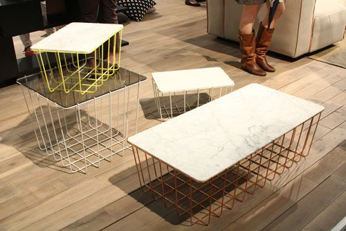 NY Design Week 2012 Marble Madness Meubles