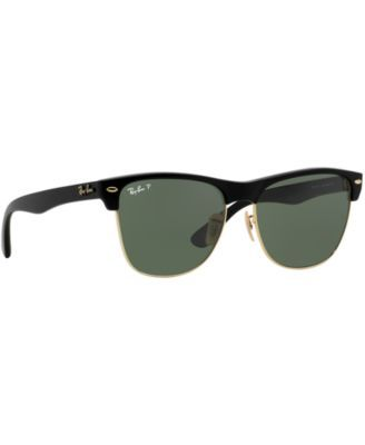 Ray-Ban Clubmaster Oversized Sunglasses, RB4175 57 - Black