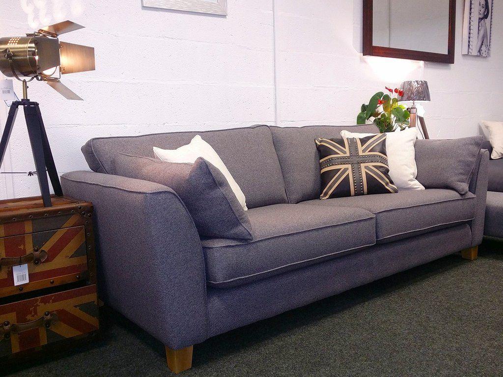 Ex Display Aurora Left Facing Purple Fabric Corner Sofa Now Just 799 Rrp 1 899 Sofas Leeds Londo