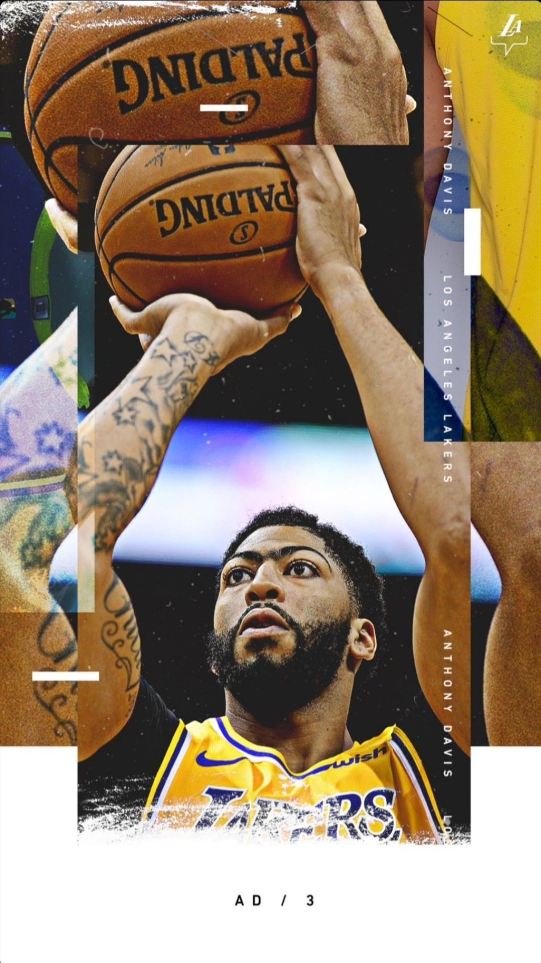 Anthony Davis wallpaper   Lakers wallpaper, Lakers, Nba ...