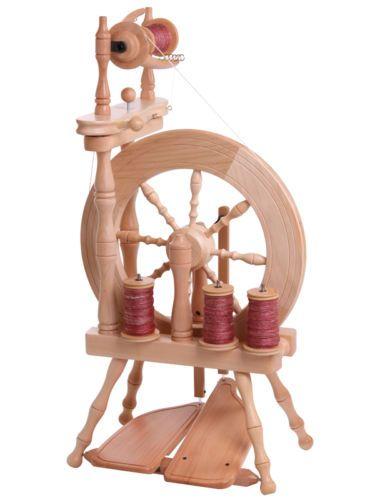 +++Ashford Spinnrad Traveller 2-fädig natur mit Doppeltritt | eBay
