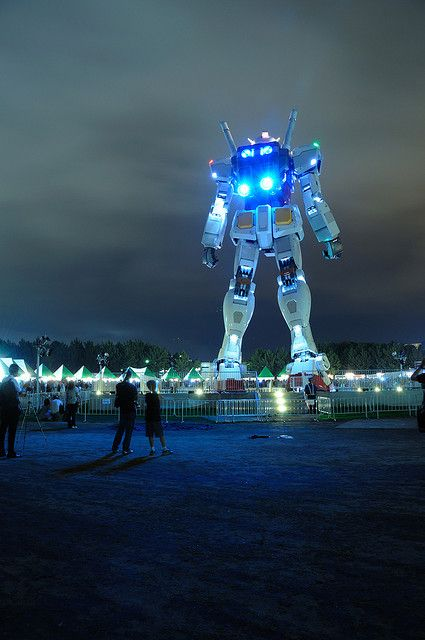 ODAIBA GUNDAM 2009 08 12 | Flickr - Photo Sharing!