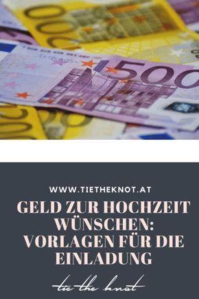 Fesselnd Geld Zur Hochzeit Wünschen: Sprüche U0026 Reime Für Die Einladung   Pinterest    Zur Hochzeit, Die Hochzeit Und Geld