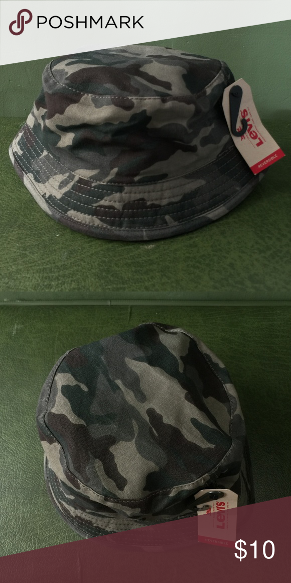 576f8207e49 Levis Camouflage Bucket Hat Levis Camouflage Bucket Hat Brand new with tags  Levi s Accessories Hats