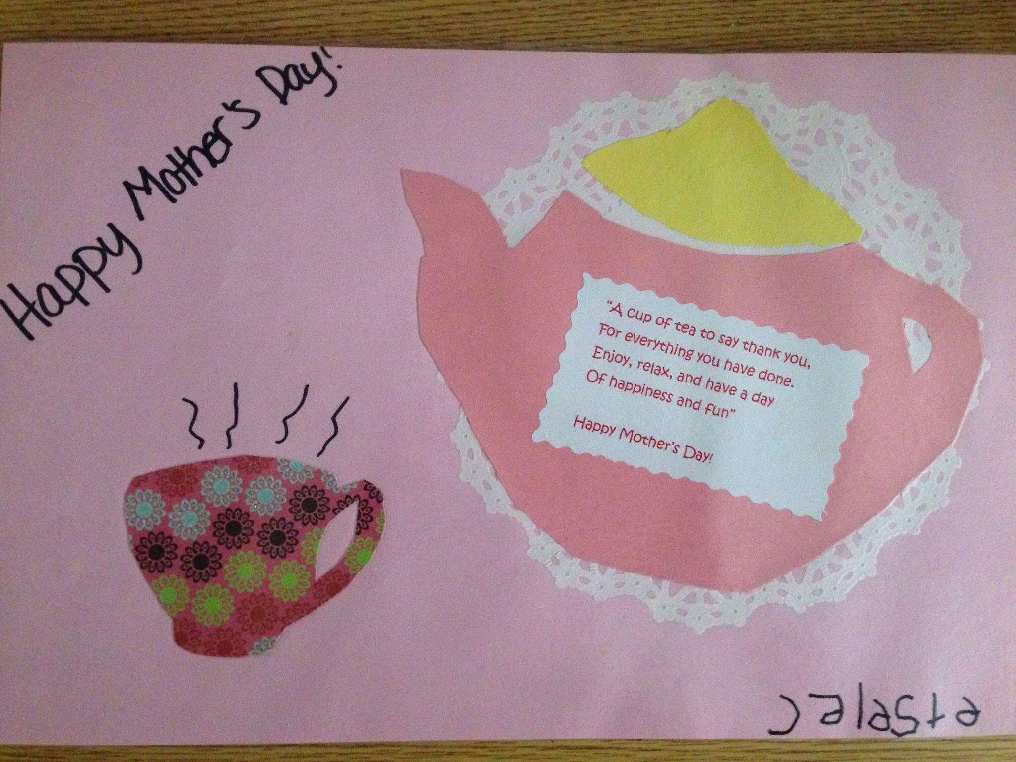 Pin By S A M C On Career Kindergarten Diy Preschool Crafts Happy Mothers Day