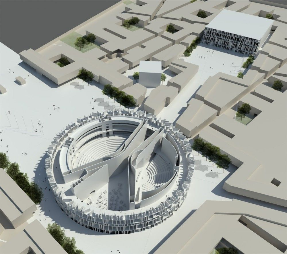 Zaha Hadid Officially Signed Up For Iraq Parliament Job