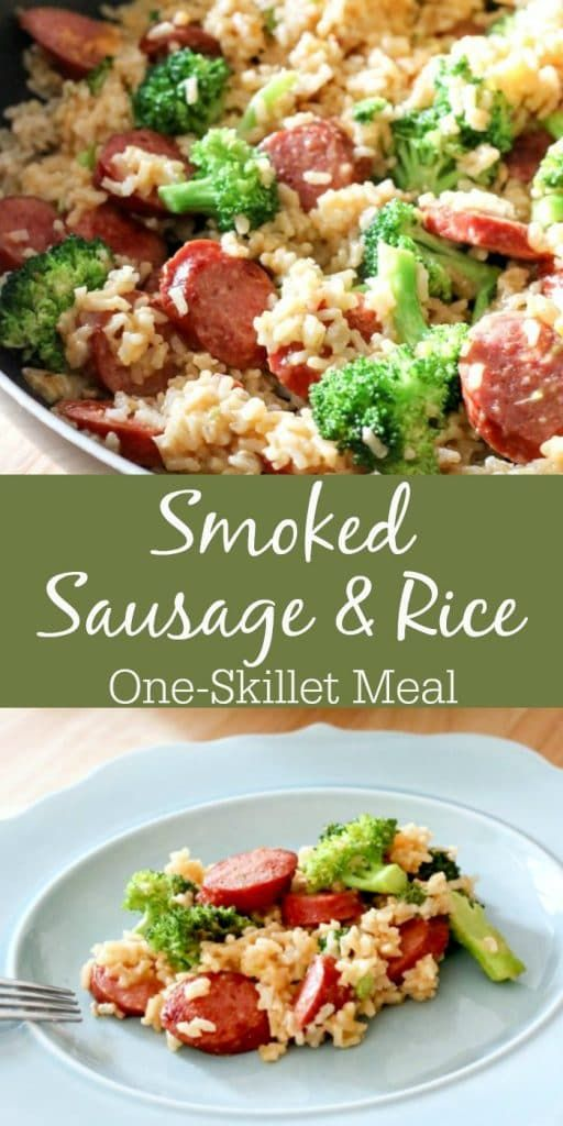 Smoked Sausage & Rice One Skillet Meal images