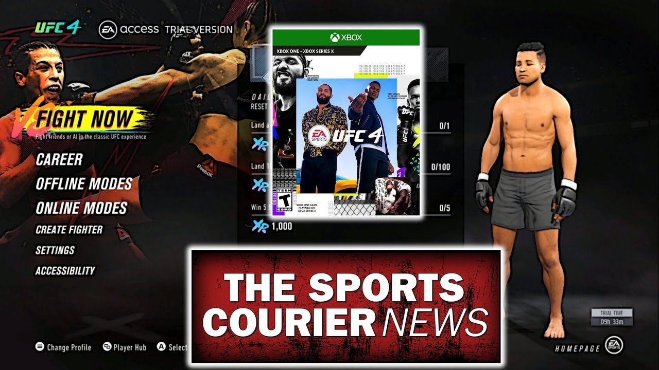 Ea Sports Ufc 4 New Menus Game Modes Xbox One In 2020 Ea Sports Ufc Ea Sports Sports