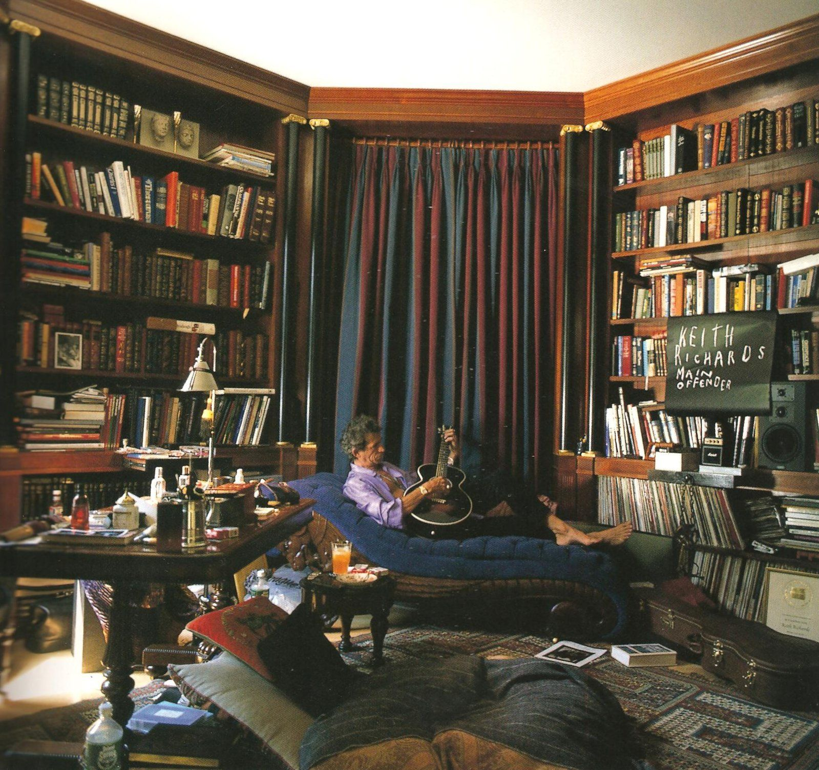Best Modern Uk Crime Writers Keith Richards Keef Home Libraries Personal Library