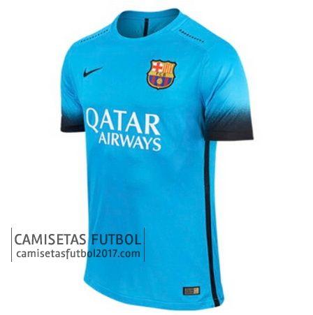 Tercera camiseta de tailandia Barcelona 2015 2016  44760ca9f9665