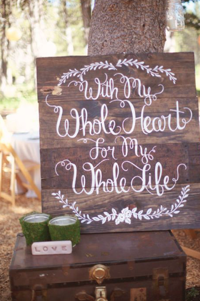 Rustic Wedding Signs.15 Pallet Sign Ideas For Your Wedding Rustic Wedding Signs