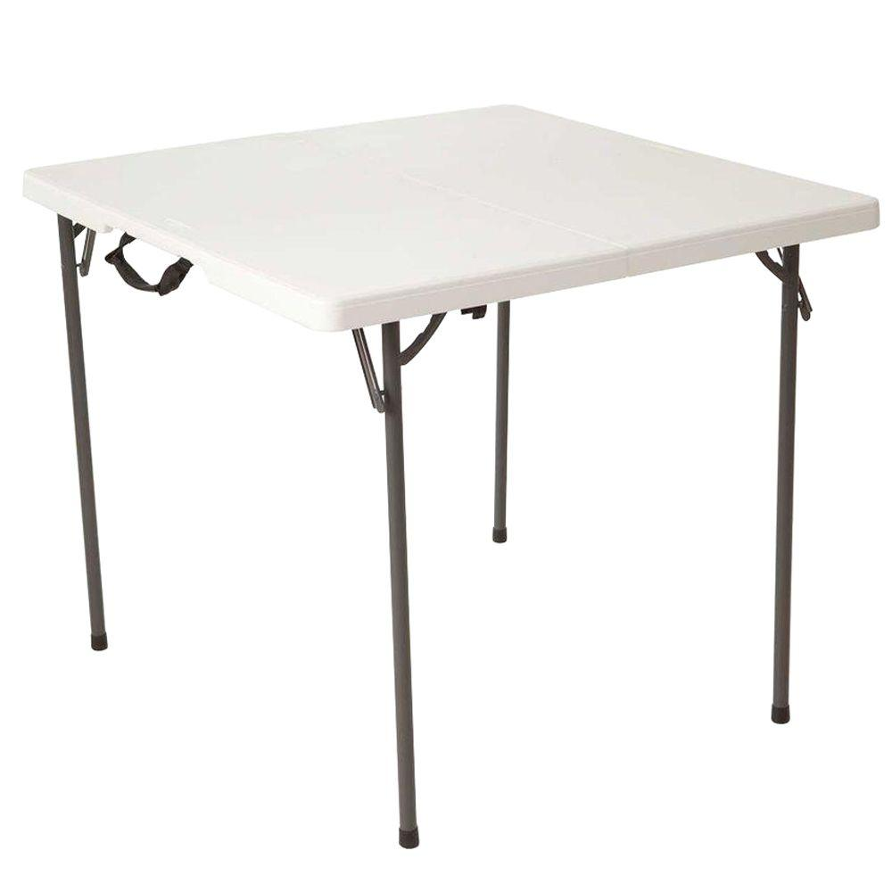 Decorate Your Lawns And Outdoors With Folding Tables Lifetime Tables White Granite Square Tables