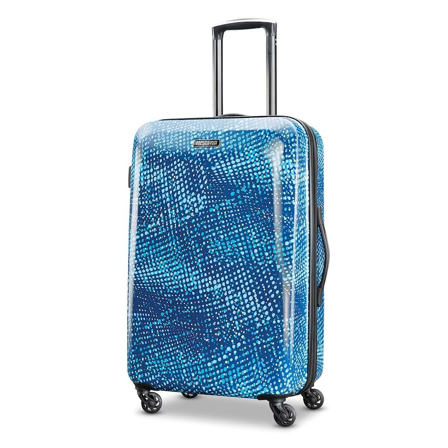 American Tourister Burst Max Printed Hardside Spinner Luggage Hardside Spinner Luggage Spinner Luggage American Tourister