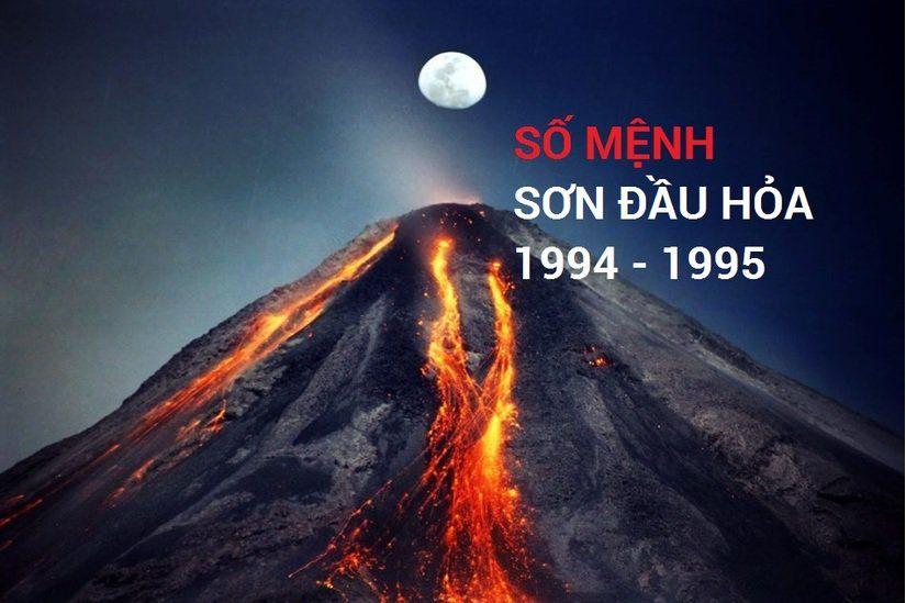 Những người sinh năm 1994-1995 đều thuộc Sơn đầu hỏa