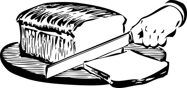 Slicing Bread With Sharp Knife Coloring Pages Best Place To Color Coloring Pages Coloring Pictures Color