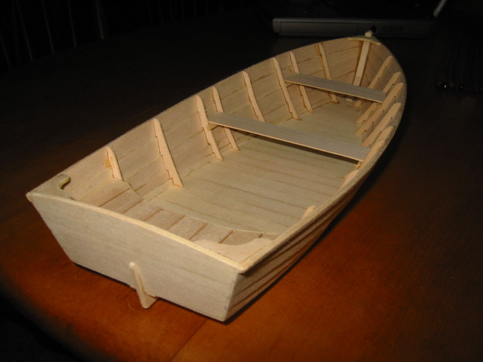 Flat bottom boat building