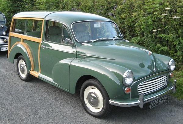1968 Morris Minor Traveller (UYP620F) : Registry : The AutoShrine Network
